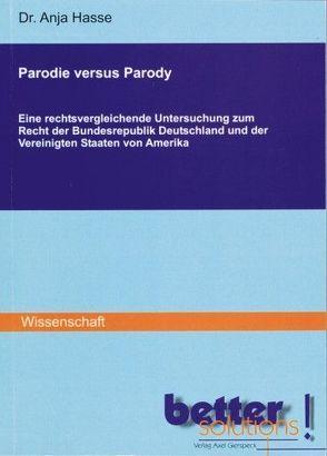 Parodie versus Parody von Hasse,  Anja