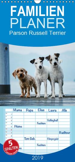 Parson Russell Terrier – Familienplaner hoch (Wandkalender 2019 , 21 cm x 45 cm, hoch) von Köntopp,  Kathrin