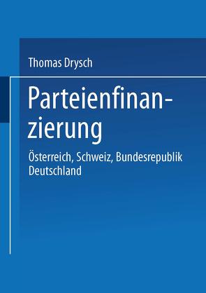 Parteienfinanzierung von Drysch,  Thomas