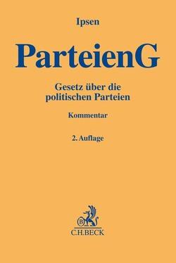 Parteiengesetz von Ipsen,  Jörn, Jochum,  Heike, Koch,  Thorsten, Saliger,  Frank, Stein,  Katrin