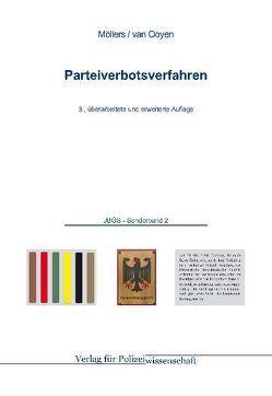 Parteiverbotsverfahren von Möllers,  Martin H, Ooyen,  Robert Ch van
