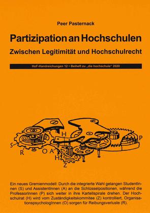 Partizipation an Hochschulen von Pasternack,  Peer