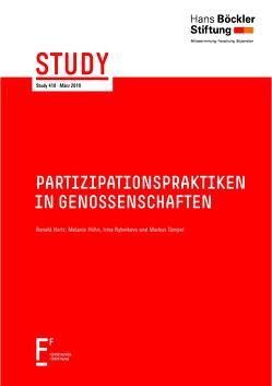 Partizipationspraktiken in Genossenschaften von Hartz,  Roland, Hühn,  Melanie, Rybnikova,  Irma, Tümpel,  Markus