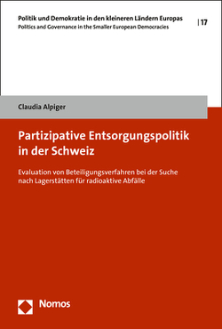Partizipative Entsorgungspolitik in der Schweiz von Alpiger,  Claudia