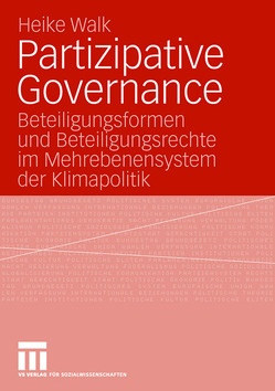 Partizipative Governance von Walk,  Heike