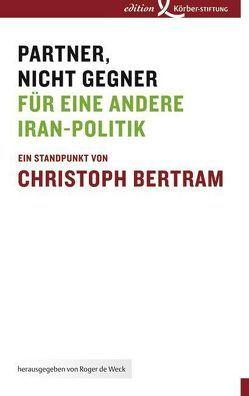 Partner, nicht Gegner von Bertram,  Christoph