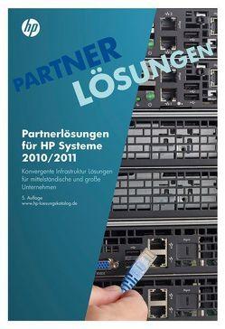 Partnerlösungen für HP Systeme 2010/2011