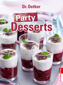 Party Desserts von Dr. Oetker