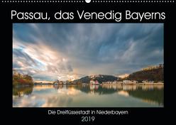 Passau, das Venedig Bayerns (Wandkalender 2019 DIN A2 quer) von Haidl - www.chphotography.de,  Christian