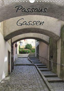 Passaus Gassen (Wandkalender 2019 DIN A4 hoch) von ~bwd~