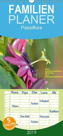 Passiflora – Familienplaner hoch (Wandkalender 2019 , 21 cm x 45 cm, hoch) von GUGIGEI