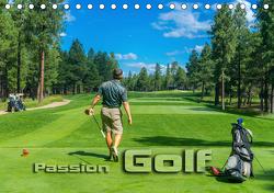 Passion Golf (Tischkalender 2021 DIN A5 quer) von Bleicher,  Renate