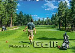Passion Golf (Wandkalender 2018 DIN A2 quer) von Bleicher,  Renate