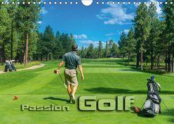 Passion Golf (Wandkalender 2018 DIN A4 quer) von Bleicher,  Renate