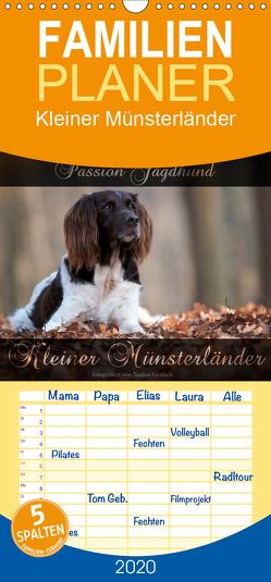 Passion Jagdhund – Kleiner Münsterländer – Familienplaner hoch (Wandkalender 2020 , 21 cm x 45 cm, hoch) von Gerlach,  Nadine