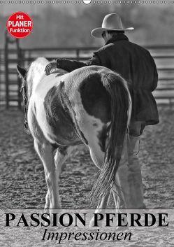 Passion Pferde. Impressionen (Wandkalender 2018 DIN A2 hoch) von Stanzer,  Elisabeth