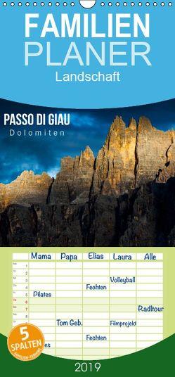 Passo di Giau – Dolomiten – Familienplaner hoch (Wandkalender 2019 <strong>21 cm x 45 cm</strong> hoch) von Gospodarek,  Mikolaj
