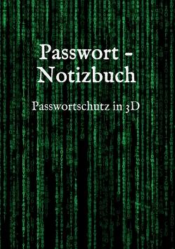 Passwort – Notizbuch von Saltch,  Lynn