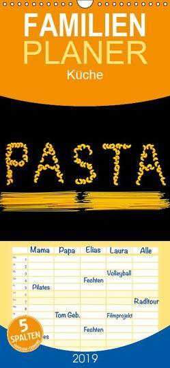 Pasta – Familienplaner hoch (Wandkalender 2019 , 21 cm x 45 cm, hoch) von Jaeger,  Thomas