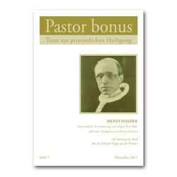 Pastor bonus – Menti Nostrae von Pius XII.,  Papst, Poppe,  sel. Eduard