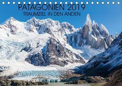 Patagonien 2019 – Traumziel in den Anden (Tischkalender 2019 DIN A5 quer) von Schroeder,  Frank