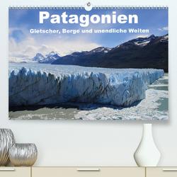 Patagonien, Gletscher, Berge und unendliche Weiten (Premium, hochwertiger DIN A2 Wandkalender 2020, Kunstdruck in Hochglanz) von Köhler,  Ute
