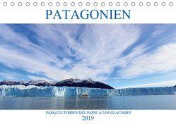 Patagonien – Parques Torres del Paine und Los Glaciares (Tischkalender 2019 DIN A5 quer) von Albilt,  Rabea