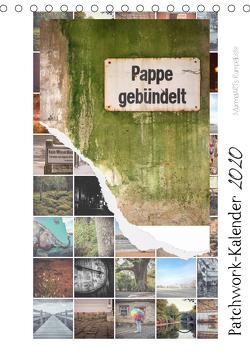 Patchwork-Kalender 2020 (Tischkalender 2020 DIN A5 hoch) von Baatzsch,  Josephine
