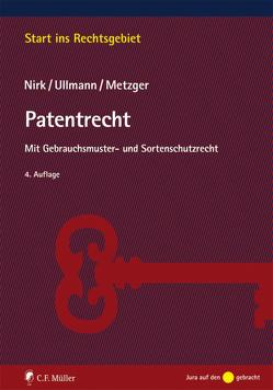 Patentrecht von Metzger,  Axel, Nirk,  Rudolf, Ullmann,  Eike