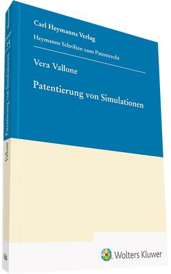 Patentierung von Simulationen von Vallone,  Vera