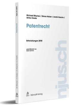 Patentrecht von Holzer,  Simon, Kasche,  André, Ritscher,  Michael