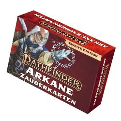 Pathfinder 2 – Zauberkarten: Arkane Zauber von Bonner,  Logan, Bulmahn,  Jason, Radney-MacFarland,  Stephen, Reynolds,  Wayne, Seifter,  Mark