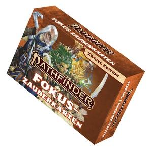 Pathfinder 2 – Zauberkarten: Fokuszauber von Bonner,  Logan, Bulmahn,  Jason, Radney-MacFarland,  Stephen, Reynolds,  Wayne, Seifter,  Mark
