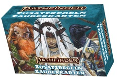 Pathfinder 2 – Zusatzregeln-Zauberkarten von Bulmahn,  Jason