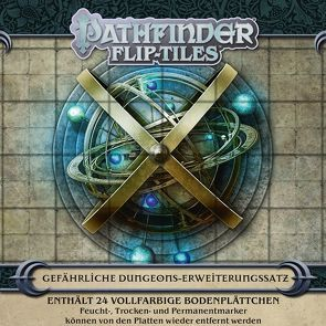 Pathfinder Flip-Tiles Gefährliche Dungeons-Erweiterungssatz von Radney-MacFarland,  Stephen