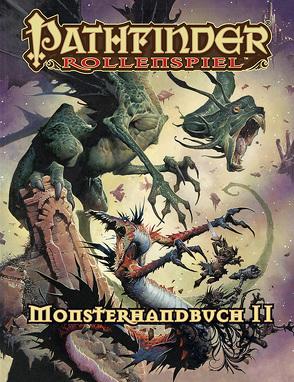 Pathfinder Monsterhandbuch 2 (Taschenbuch) von Baur,  Wolfgang, Bulmahn,  Jason, Daigle,  Adam, Davis,  Graeme, Frasier,  Crystal, Frost,  Joshua J., Reynolds,  Wayne, Tim