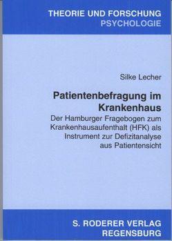 Patientenbefragung im Krankenhaus von Lecher,  Silke