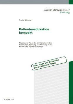 Patientenedukation kompakt von Schwarz,  Brigita