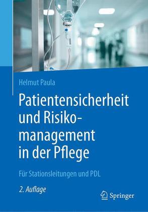Patientensicherheit und Risikomanagement in der Pflege von Paula,  Helmut