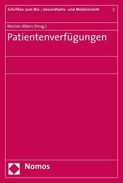 Patientenverfügungen von Albers,  Marion