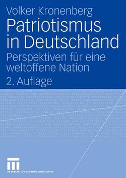 Patriotismus in Deutschland von Kronenberg,  Volker