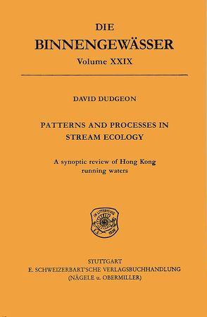 Patterns and Processes in stream ecology von Dudgeon,  David