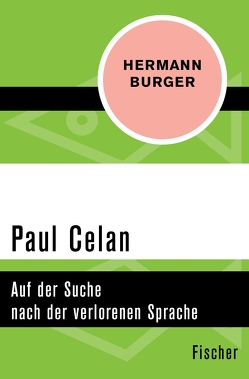 Paul Celan von Burger,  Hermann