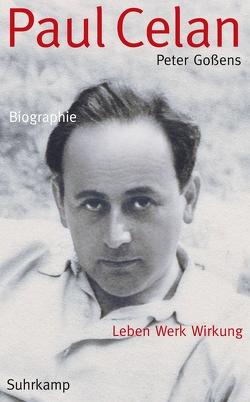 Paul Celan von Gossens,  Peter