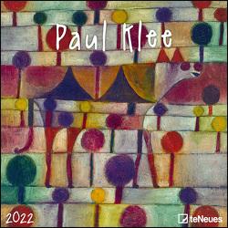 Paul Klee 2022 – Wand-Kalender – Broschüren-Kalender – 30×30 – 30×60 geöffnet – Kunst-Kalender von Klee,  Paul