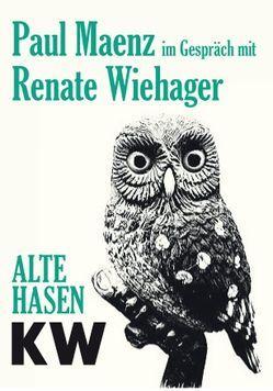 Paul Maenz im Gespräch mit Renate Wiehager von Pfeffer,  Susanne