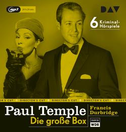 Paul Temple – Die große Box von Cordes,  Annemarie, Deltgen,  René, Durbridge,  Francis, u.v.a.