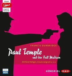 Paul Temple und der Fall Madison von Deltgen,  René, Durbridge,  Francis, Langrock,  Ursula, u.v.a.