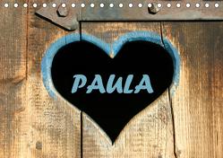 PAULA-Namenskalender (Tischkalender 2019 DIN A5 quer) von SchnelleWelten