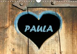 PAULA-Namenskalender (Wandkalender 2019 DIN A4 quer) von SchnelleWelten